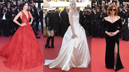 Celebridades lucen sus mejores trajes en Festival de Cannes 2017