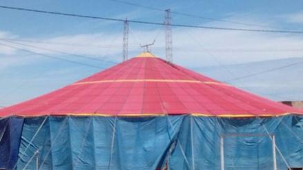 Delincuentes ingresan y roban más de cinco mil soles en circo de Chiclayo