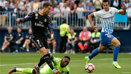 Cristiano Ronaldo anotó un golazo para el Real Madrid al primer minuto