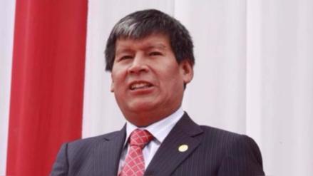 Concejo regional evalúa levantar suspensión a Wilfredo Oscorima