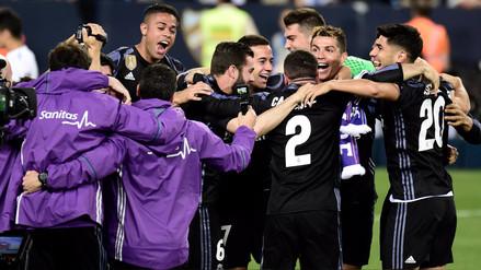 ¡Campeón! Real Madrid venció al Málaga y se llevó el título de La Liga