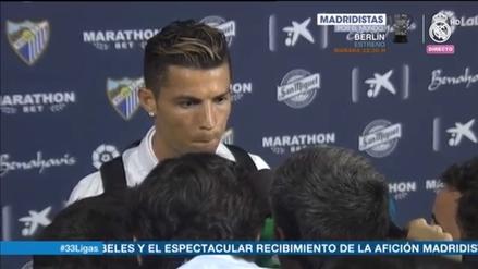 Cristiano Ronaldo enfureció tras ganar La Liga por comentarios en su contra