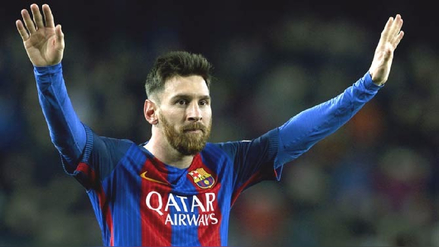 Lionel Messi se convirtió en el goleador de la temporada en Europa