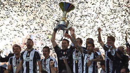 ¡Histórico! Juventus logró su sexto título consecutivo en la Serie A