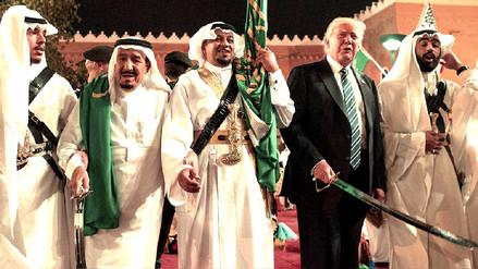 Donald Trump firmó en Arabia Saudita un contrato de armamento por US$ 350 mil millones