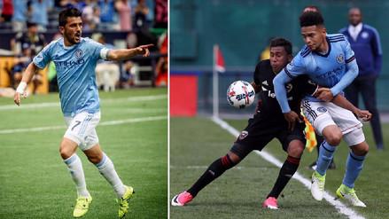 David Villa elogió el trabajo de Alexander Callens en la MLS