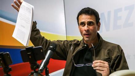 Capriles denuncia que 2,632 personas fueron detenidas en protestas Venezuela