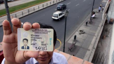 MTC: Trámite para la licencia de conducir se podrá pagar por Internet