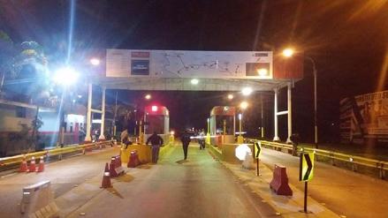 Moyobamba: tres muertos dejó asalto a peaje en vía Fernando Belaunde Tery
