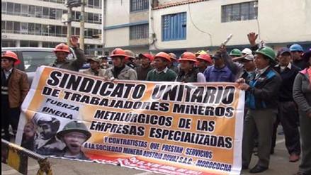 Mineros del sur participarán en huelga nacional convocada para junio