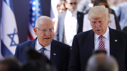 """Trump llegó a Tel Aviv para """"reafirmar el lazo inquebrantable entre ..."""