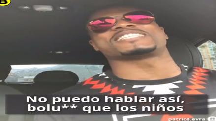 Patrice Evra reaparece con divertido video hablando como argentino