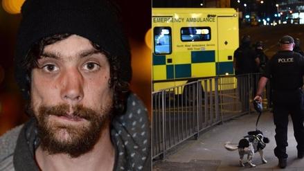 Un mendigo ayudó a evacuar a las víctimas del atentado en Manchester