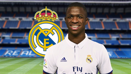 Real Madrid ficha a Vinicius Junior a partir de julio del 2018