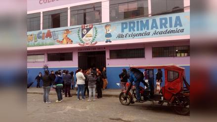 Colegio no cuenta con el servicio de agua desde marzo en El Agustino