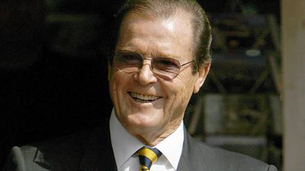 Roger Moore, que encarnó a James Bond, murió a los 89 años