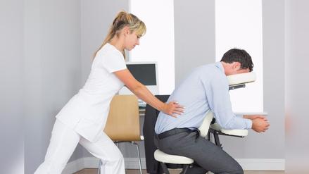 Beneficios de los masajes en la oficina