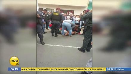 Un sujeto ebrio acuchilló a dos policías en Independencia