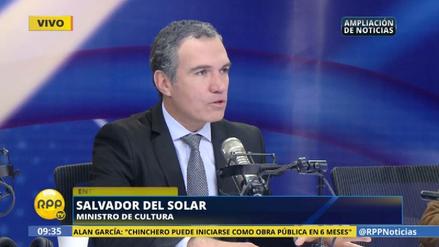 """Salvador del Solar: """"Vizcarra no debe ser expuesto a más maltratos"""""""