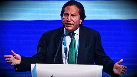 Alejandro Toledo dio un discurso tras participar en foro de la ONU en Nueva York