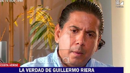 Abogado de Guillermo Riera: