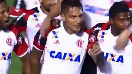 Paolo Guerrero anotó para Flamengo en la Copa de Brasil ante Goianiense