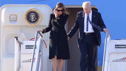 Polémica por supuesto nuevo desaire de Melania con Donald Trump