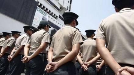 Chiclayo: policías en retiro realizan plantón por igualdad de pensiones