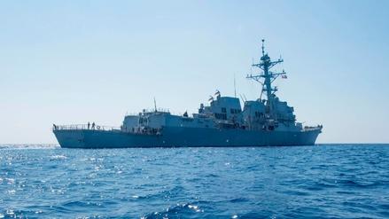 China advirtió a EE.UU. que el envío de un destructor a su mar