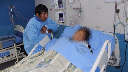 Gestante que cayó de ambulancia se recupera en Hospital El Carmen