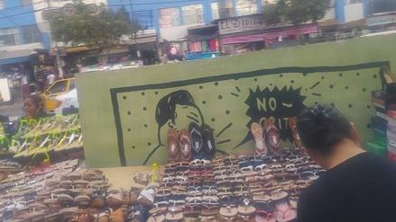 Trujillo: bloques de cemento permanecen inútiles ante comercio informal