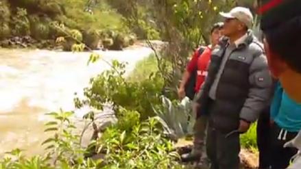 Hombre cayó al río Chuquihuaranga durante visita turística