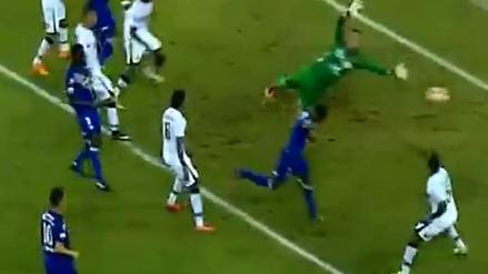La pasividad de Melgar en el gol de Emelec por la Copa Libertadores