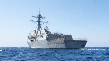 Estados Unidos envió un destructor al mar de China