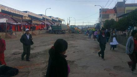 Desalojan pacíficamente a 500 ambulantes que ocupaban vías en Río Seco