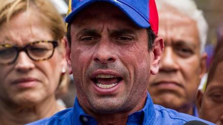 """Henrique Capriles: """"Maduro ha planteado un fraude con la Constituyente"""""""