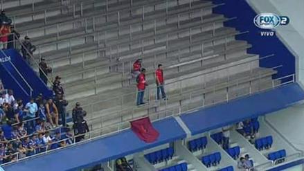 Tres hinchas de Melgar fueron a alentar a su equipo en Ecuador
