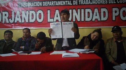 Frente de Defensa de Chinchero exige salida de contralor Edgar Alarcón