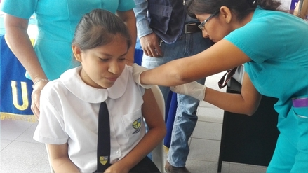 Salud continúa con vacunación contra el Papiloma Humano en Piura