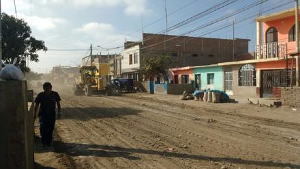 Continúan trabajos de rehabilitación de espacios públicos en Lambayeque