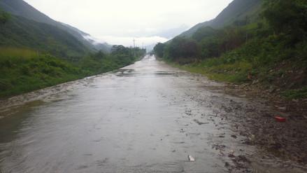 Fuertes lluvias se registraron en la región Amazonas