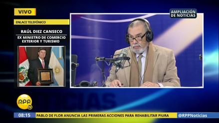 """Raúl Diez Canseco: """"Toledo le echó barro a PPK y al Perú"""""""