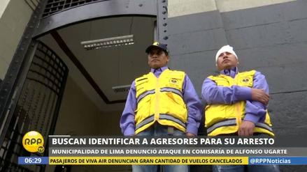 La Policía busca a los colectiveros que agredieron a inspectores