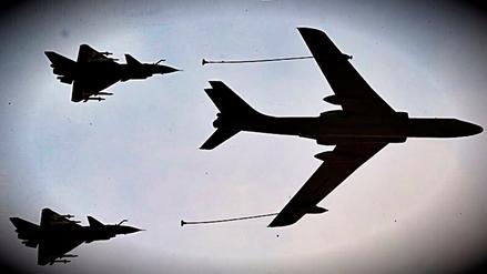 Dos cazas de China interceptaron un avión de vigilancia de EE.UU.