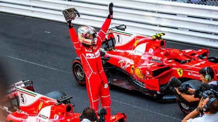 Sebastian Vettel ganó el Gran Premio de Mónaco
