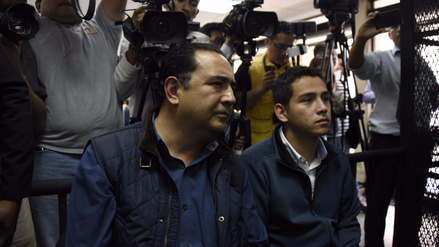 Envían a juicio a hermano e hijo del presidente de Guatemala, Jimmy Morales