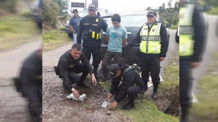Ayacucho: hallan 22 kilos de droga que era transportada en auto