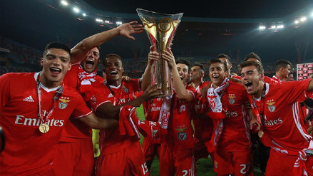 El Benfica de André Carrillo se coronó campeón de la Copa de Portugal
