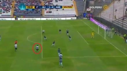 Rinaldo Cruzado anotó un golazo al ángulo contra Garcilaso en Matute