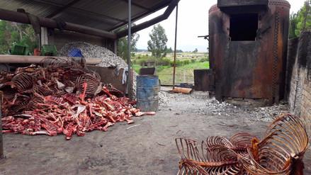 Huancayo: autoridades intervienen camal en Sicaya - RPP Noticias